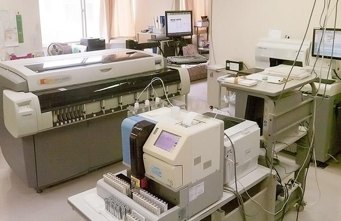 生化学的検査機器